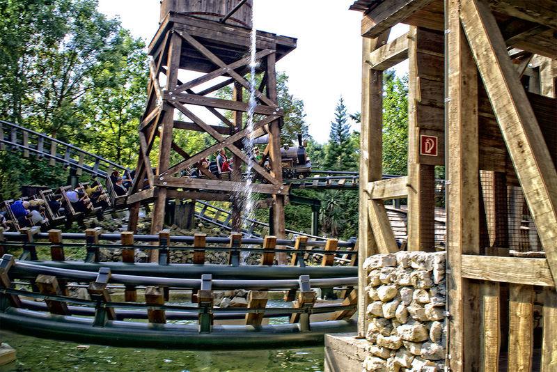 Amusementpark Architecture Bridge - Man Made Structure Built Structure Construction Frame Day Freizeitpark HDR Large Group Of Objects Outdoors Phantasialand Pretpark Railing Sky Structure