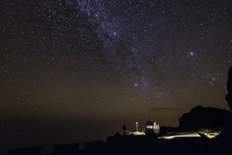 Canary Islands La Palma, Canarias Astronomy Beauty In Nature Constellation Galaxy La Palma Landscape Milky Way Nature Night No People Outdoors Roque De Los Muchachos Scenics Sky Space Space Exploration Star - Space Starry Tranquility