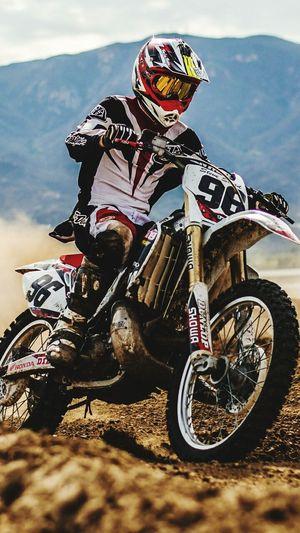 The First cop ☺ Motocross Biker Stunt Extreme Sports Sports Clothing Helmet Motorcycle Adventure Protective Sportswear Ice Hockey Stick Hockey First Eyeem Photo