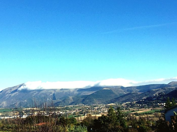 Mountain Blue Sky Mountain Range Tranquility La Tranquillità Che Viene Dalla Grandezza.
