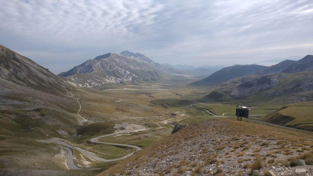 Plateau From Above  Cloudy EyeEm Selects Mountain Sky Landscape Mountain Range Cloud - Sky