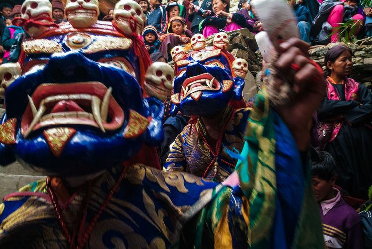 Karsha Gustor Festival at Karsha Gompa in Zanskar Valley Culture Festival Folk Gompa India Karsha Kursha Ladakh Leh Padum Religion Religious  Spirituality Traditional Clothing Travel Zanskar