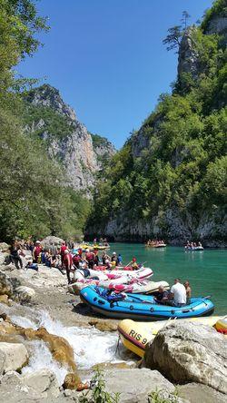 Beautiful, clean and potable river Tara. Tara-Drina - one of the best rafting tour in Europe. That's Me Enjoying Life Tara River Tara Canyon Beautiful Nature