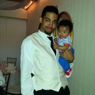 The groom and his nephew!!!! ??@jonb_the_great .. Congrats bro!!!!