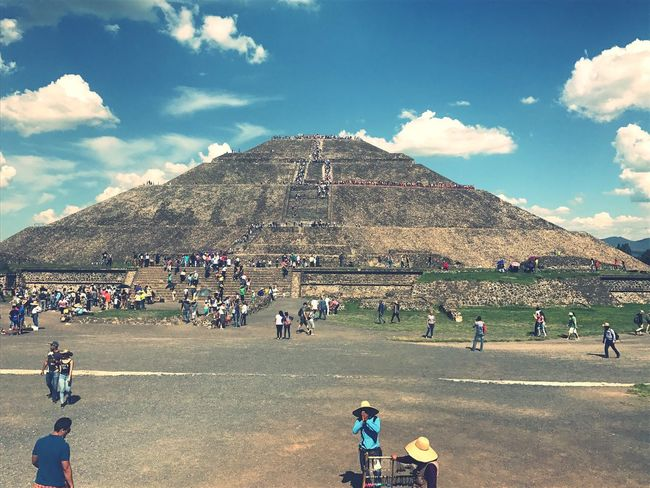 Piramide Del Sol Mexico Beautiful
