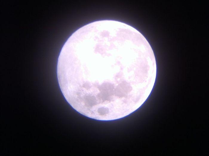 Chinese Mid-Autumn Festival Dark Discovery Exploration Full Moon Moon Night Sky Telescope View