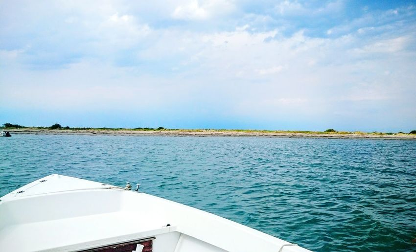 Boat Sea And Sky Summer Relax Landscape Italy Nature Blue Waves Hello World