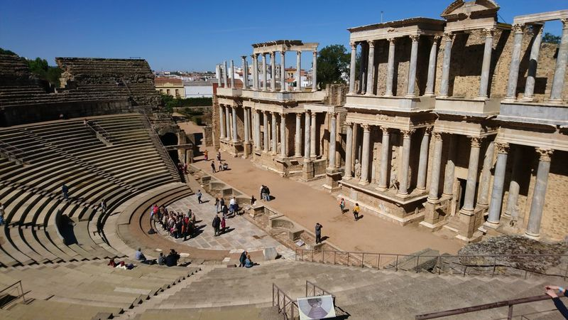 Archaeology Architectural Column Architecture Beautiful Built Structure History Old Ruin Roman Theatre Travel Destinations