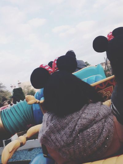 I wanna go... Disneyland DisneySea Disney Sky Cloud - Sky Day People Me Girl Wanna First Eyeem Photo