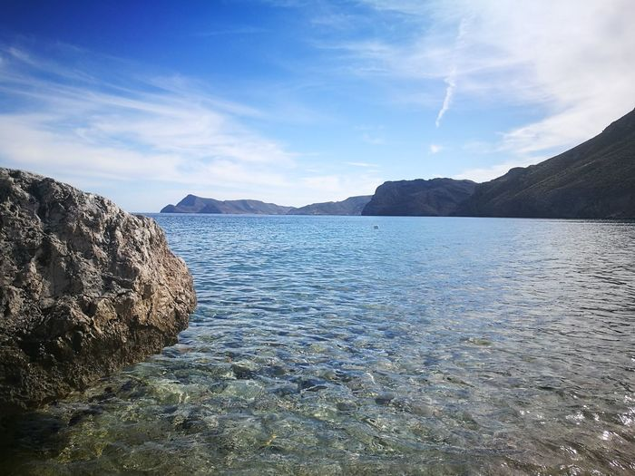 Outdoors Day Cloud - Sky Travel Destinations Light Beachday Beach Holiday And Relaxing Almería Spaın Urban Skyline Sea And Sky Sea Seascape Sea Life Sea View Rock Nature Nature_collection Nature Photography Sommergefühle