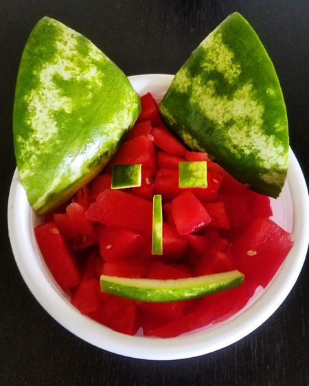Food And Drink Healthy Eating Green Color Vegetable Fruit Summer watermelon Watermelon🍉 Watermelon Slice Close-up