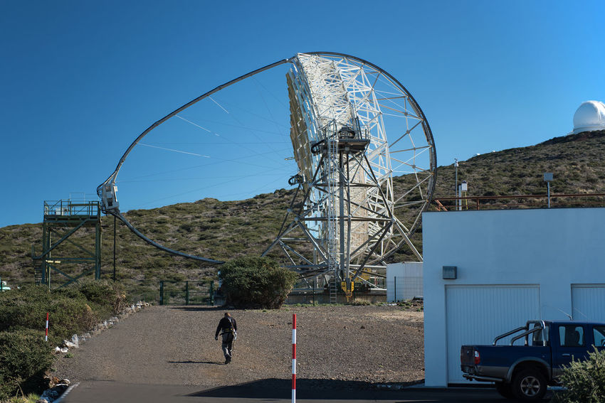 A special space telescope :) one of the view on our planet. Architecture Astronomy Built Structure La Palma La Palma Roche De Los Muchachos Metal Metallic Outdoors SPAIN Special Object Star Observatory Technology Traveling Work