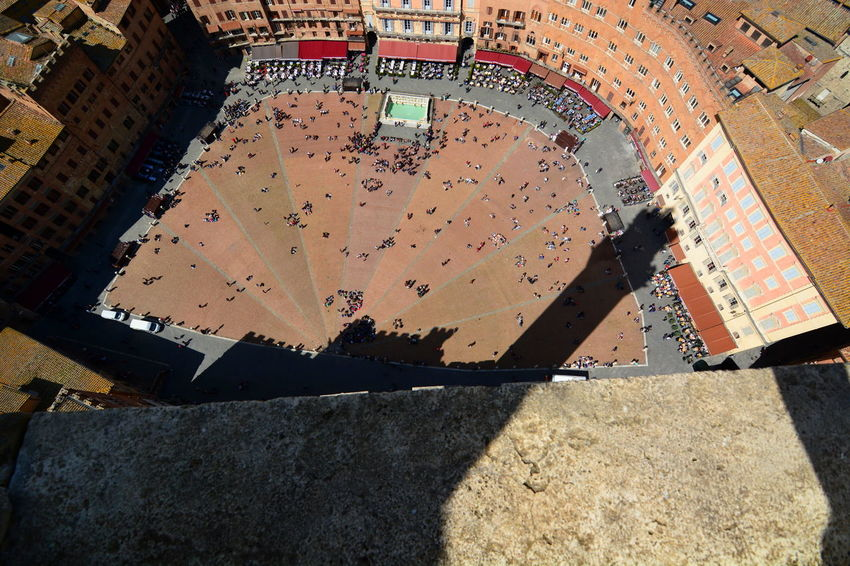 Piazza del Campo view from Torre del Mangia Aerial Architecture City Cityscape Historical Place Italian Italy Piazza Del Campo Piazza Del Campo. Siena Shadow Siena Siena Italy Siena's Tower Square Torre Del Mangia Tower TOWNSCAPE Travel Travel Photography Tuscan Tuscany Tuscanygram The Great Outdoors - 2016 EyeEm Awards The City Light
