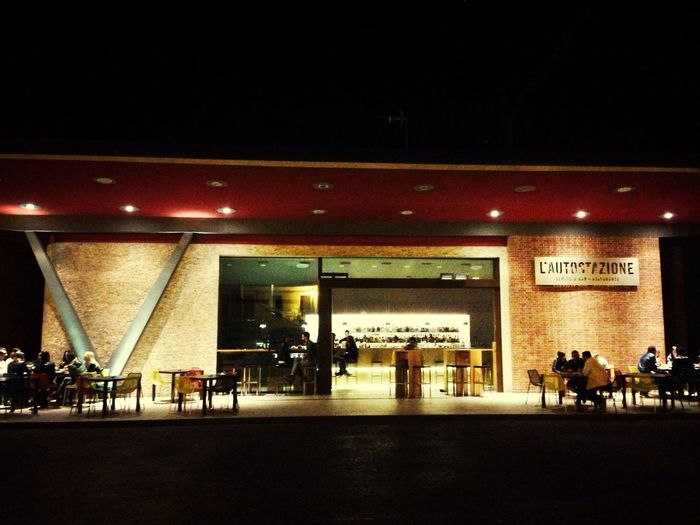 Italy Cittadella By Night Bar
