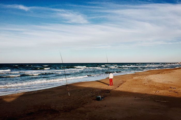 IPhoneography IPhone Iphonesia Iphoneonly Iphonephotography Vscocam VSCO Vscogood Landscape Landscape_Collection Sea Seascape Seaside Fishing Fisherman Winter VSCO Cam Beach Photography Beachphotography Landscapes Telling Stories Differently The Great Outdoors - 2016 EyeEm Awards TCPM