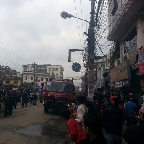 Fire Under control. BishalBazaar Basantapur Underground