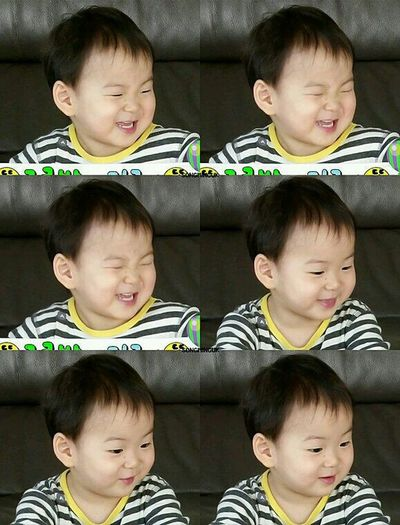When my strawberries laugh i automatically laugh💞 Song Minguk Koreanboy Daehanmingukmanse Returnofsuperman