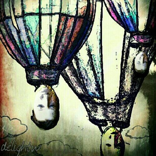 Hanging Out Art Droidography Mobile Love Darkart