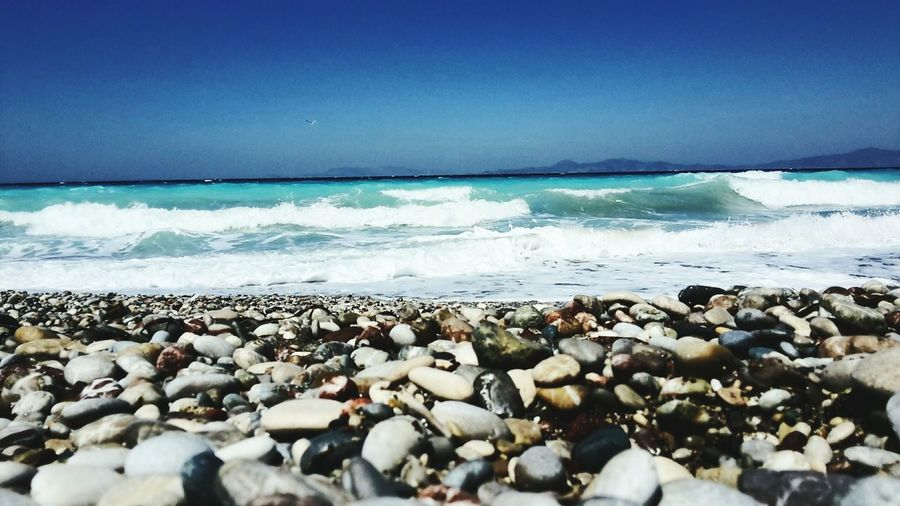 Greece Rhodos Lachania Beach