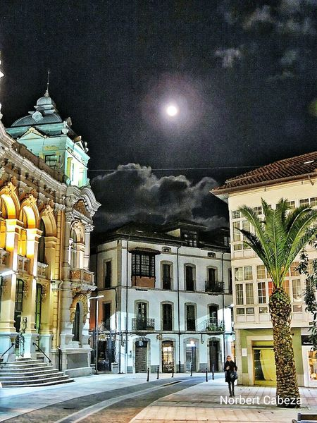 El Casino de Llanes Asturias Asturias Love This City HDR The Places I've Been Today Eyem Asturias Llanes Moon Shots Sky Collection