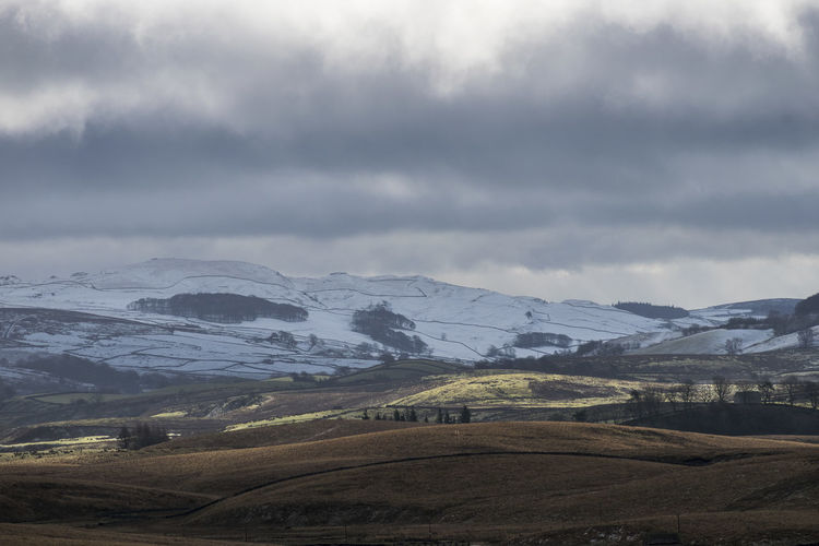 Beauty In Nature Cold Temperature Landscape Mountain Mountain Range Nature No People Outdoors Scenics Snow Tranquil Scene Tranquility Weather Winter Yorkshire Dales
