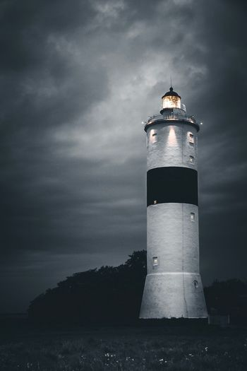 A Guiding Light   Built Structure Direction Lighthouse Protection Guidance Architecture Safety Building Exterior Tower Security Sea Sky Water Assistance Calm Cloud - Sky Tall - High Shore Outdoors Cloudy EyeEm Gallery Eye4photography  EyeEm Nature Lover EyeEm Best Shots EyeEm Best Edits