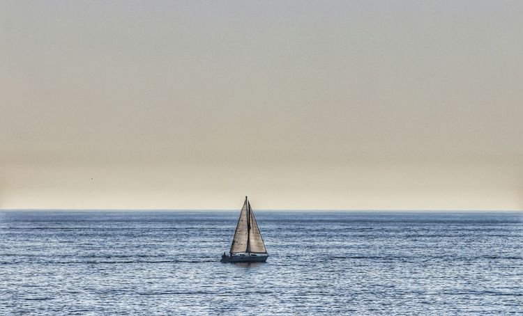 Sailing The Open Oceans Nautical Vessel Sailing Sea Horizon Over Water Sailboat Outdoors Tranquil Scene Scenics Yacht Photo Of The Day Bestoftheday ForTheLoveOfPhotography Landscapes From My Point Of View Scenic View Ocean Sport Recreation  Adventure Journey Beauty In Nature Yachting Tranquility Seascapes