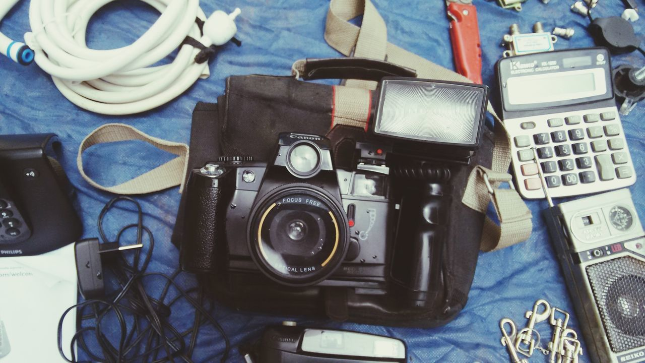 technology, connection, indoors, no people, camera - photographic equipment, day, close-up