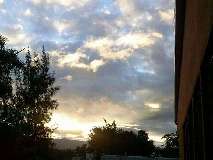 Nature On Your Doorstep Beautiful Sunset Nice View Tegucigalpa UPNFM Sky Colorful Sky Colorful Sunset