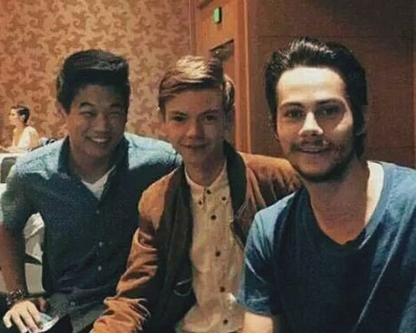 Ss Thomas Sangster Dylan O'Brien  Tst