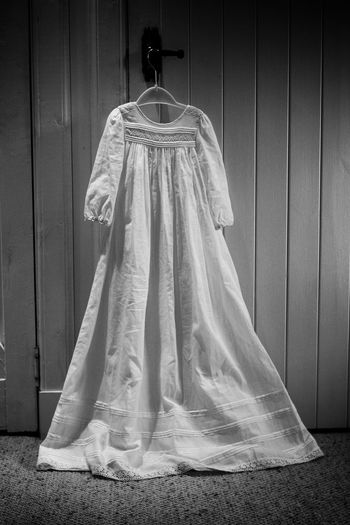 The Christening Gown Full Length Baby Specialday  Christeninggown Hanging