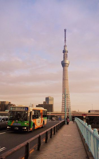 Tokyo Skytree (Nokia Lumia 800 - February 2013) Architecture Building Exterior Built Structure Capital Cities  City City Life Cloud Cloudy Communications Tower Japan Outdoors Sky Tokyo Tokyoskytree Tower