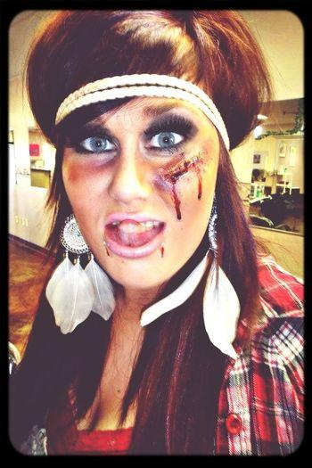 Blood Blue Eyes Last Halloween