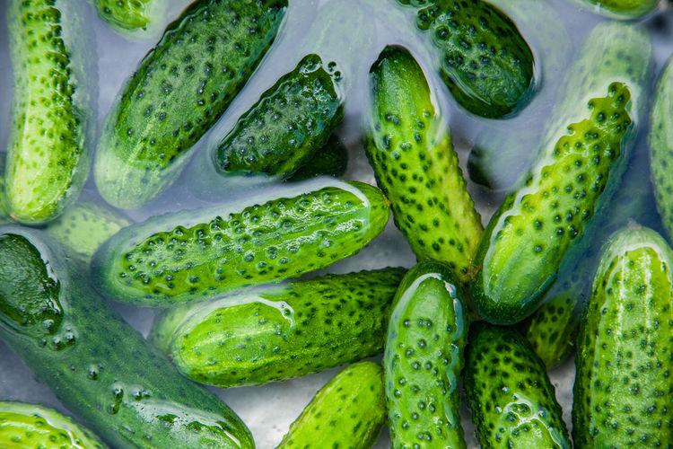 Full frame shot of pickled at market stall