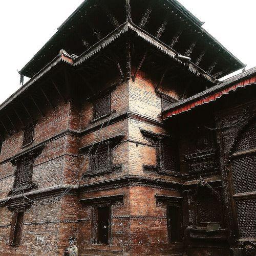 Nepal Kathmandu Basantapur Heritage Site Historic Historical Building Temple Architecture Urban Sky Close-up