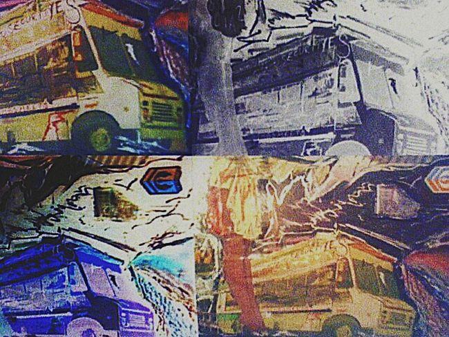 My Artwork My Art Digitizing Quadra Collage DaBombMeatPies Negative Art Negative Effect Work, Waitress, Food Service, You've Been Served
