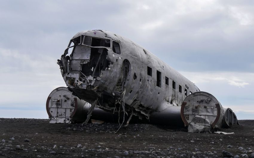 Dc 3 wreck in iceland
