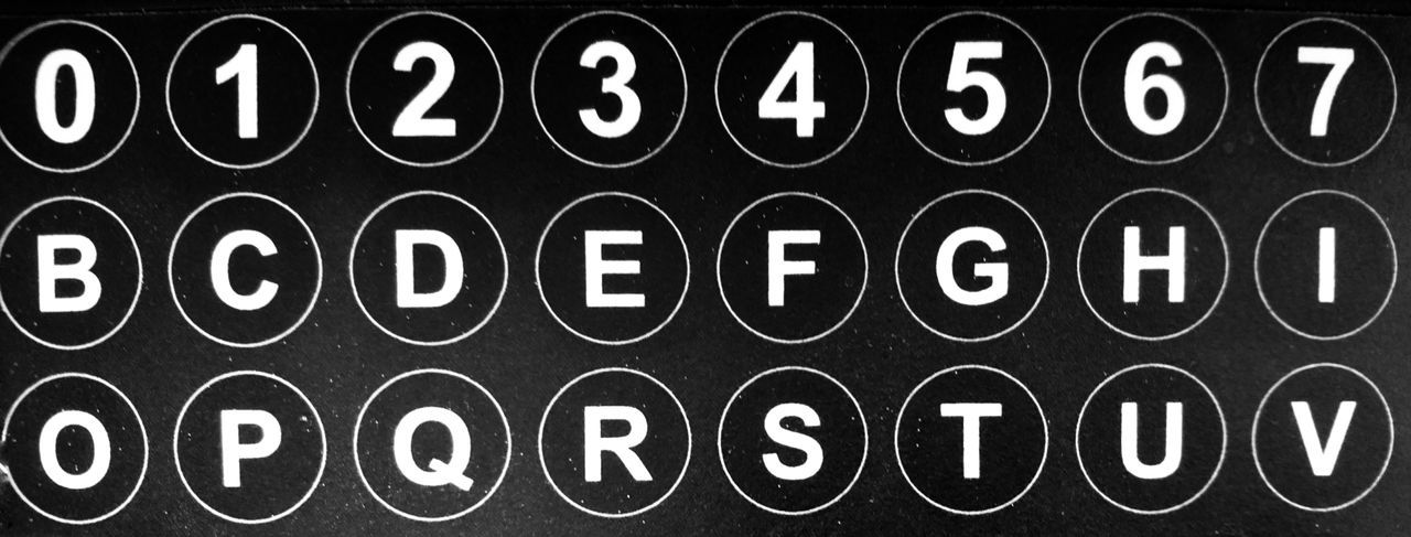 Alphabetical buttons in black and white. Alphabet Buttons Background Texture Alphabetical & Numerical Alphabetical Number Numbers Letter Letters Macro Black And White Collection  Blackandwhitephotography Black And White