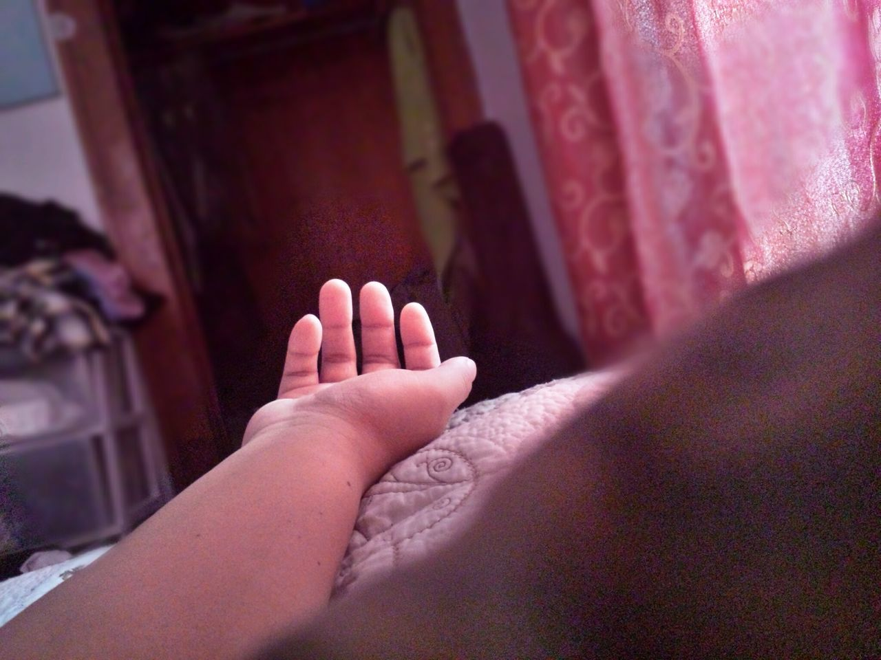 indoors, human body part, close-up, one person, childhood, human hand, day, people
