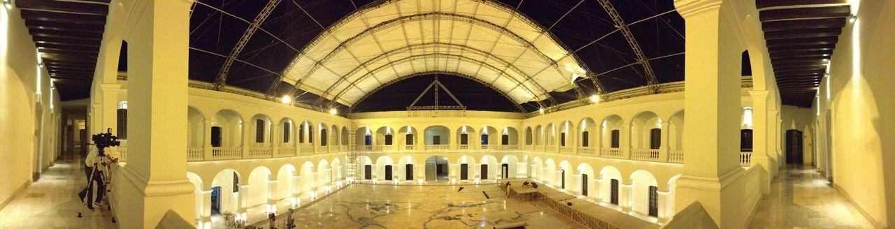 Panorámica del Museo Histórico Naval !! Panoramic Museum Navy Veracruz Arquitecture Nightphotography