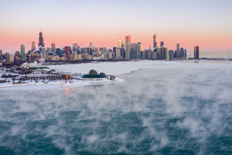 Chiberia 01/31/2019 -45 degree windchill Sky Cold Temperature Freeze Freezing Cold Freezing Frozen Frozen Lake Frozen Water Urban Skyline Landscape Cityscape Water Travel Destinations City Architecture Modern Outdoors Waterfront Skyscraper Built Structure Chicago Chicago Architecture Chicago Skyline Lake Michigan Chicago Lake Michigan