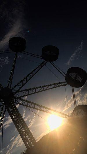 Carnival Spinner Sunset Sun
