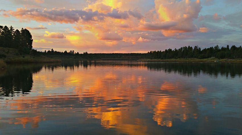 Monsoon Sunset Sunset #sun #clouds #skylovers #sky #nature #beautifulinnature #naturalbeauty #photography #landscape