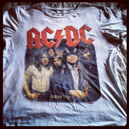 'My Rock Tees Series' MyRockTees ACDC HighwayToHell BonScott AngusYoung Tshirt memorabilia rock Music igaddict Igers iphonesia instagood instagrammers