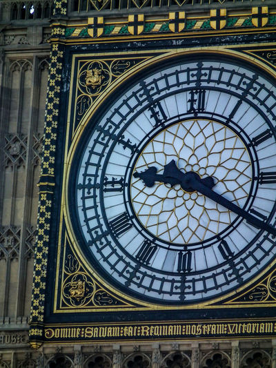 Architecture Astrology Sign Astronomical Clock Astronomy Big Ben Building Exterior City Clock Clock Face Clock Tower Close-up Day England Gran Bretagna Great Britain Großbritannien History Inghilterra London Londra Minute Hand No People Outdoors Time Travel Destinations