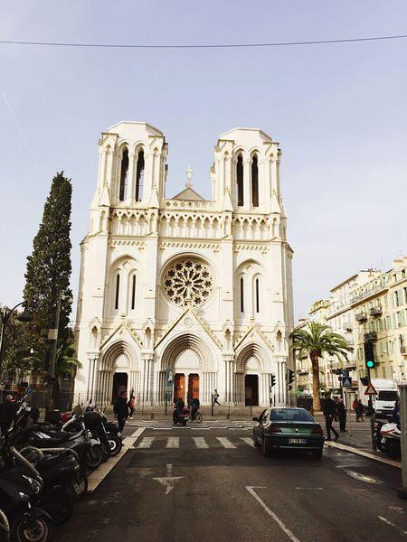 Nizza, Hello World France, Côte d Azur, church,