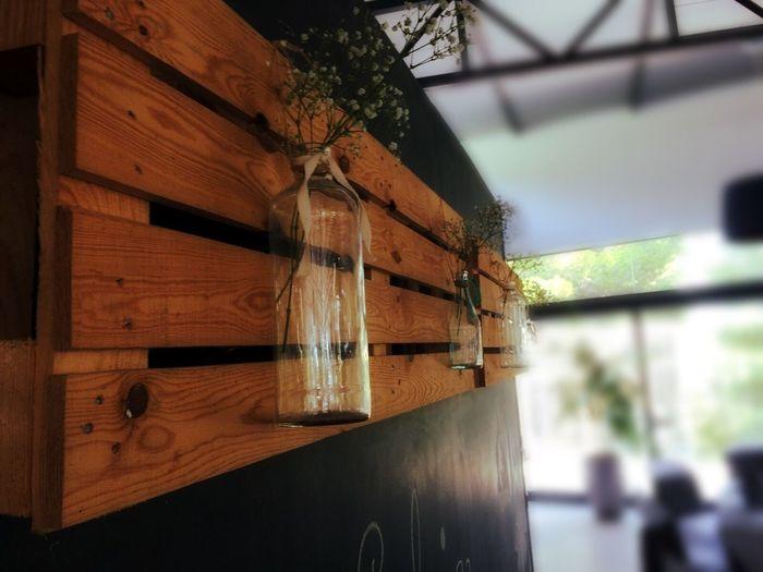 Wood - Material Focus On Foreground Bottle Decoration Castelltallat
