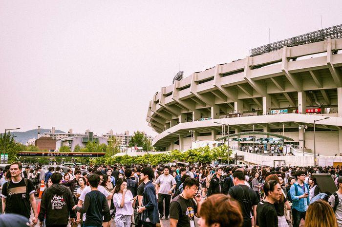 Game day. Urban Landscape EyeEm Korea Hello World Stadium People Crowd Eye4photography