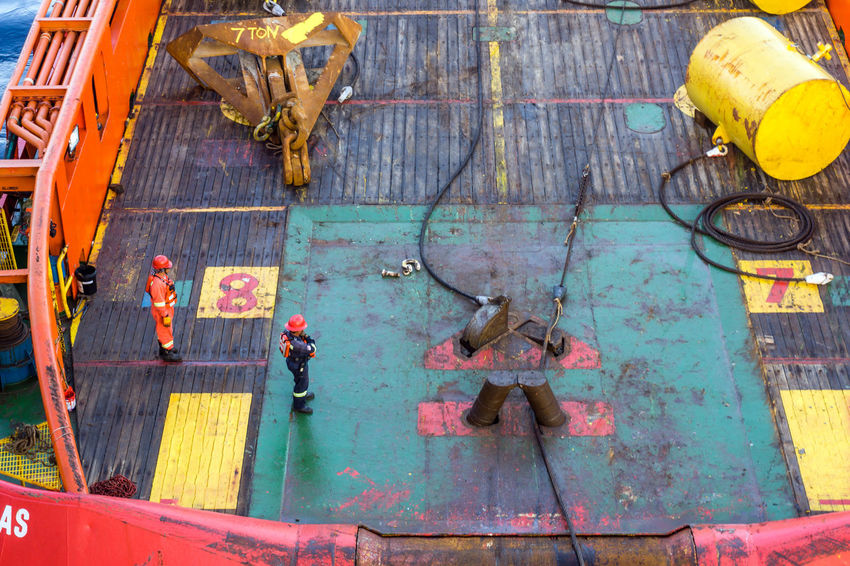 anchor handling Oilfield Stern Roller Shark Jaw Rope Wire Deck Able Bodied Seamen Rigger Industry Rigger Anchor Anchor Handling Installation Construction Tug Tugboat Vessel Stern Shark Jaw Offshore Offshore Life Oil And Gss