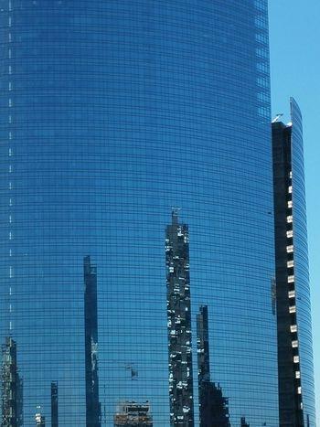 Grattacieli e riflessi Skyscape Skyscapes Milano Milan Architecture Reflections Windows Geometry